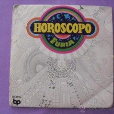 Discos de vinilo: HOROSCOPO. FURIA. SINGLE.. Lote 43699097