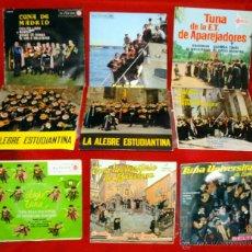 Discos de vinilo: LA TUNA 9 EP´S DE LOS AÑOS 60. Lote 43702910