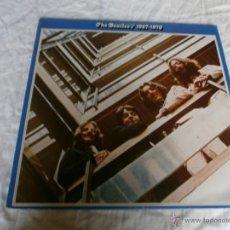 Discos de vinilo: THE BEATLES/1967 - 1970 - ORIGINAL ESPAÑOL - 1 J 162 - 195.3093 - ETIQUETAS Y ESTUCHE AZULES. Lote 43703882