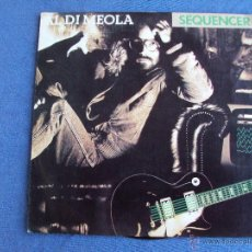 Vinyl records - AL DI MEOLA, SEQUENCER (CBS 1983) SINGLE PROMO ESPAÑA - SCENARIO JAZZ ROCK FUSION - 43704766