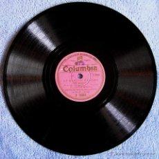 Discos de vinilo: DISCO DE 78 RPM PIZARRA - LA BLANCA PALOMA DE LEON Y QUIROGA POR JUANITA REINA Y ORQUESTA.. Lote 43705062