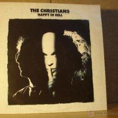 Discos de vinilo: THE CHRISTIANS - HAPPY IN HELL - ISLAND 74321 10718 1 - 1992. Lote 254036485