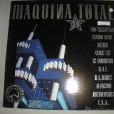 Discos de vinilo: MAGNIFICO LP DE - MAQUINA - TOTAL -. Lote 43712731
