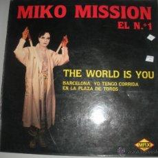 Discos de vinilo: MAGNIFICO LP DE - MIKO - MISSION -. Lote 43712741