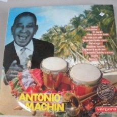 Discos de vinilo: MAGNIFICO LP DE - ANTONIO .- MACHIN -.. Lote 43715799