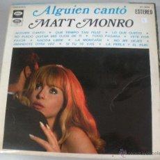 Discos de vinilo: MAGNIFICO LP DE - MATT- MONRO -. Lote 43715823