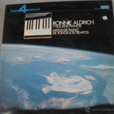 Discos de vinilo: MAGNIFICO LP DE RONNIE -ALDRICH -. Lote 43715863