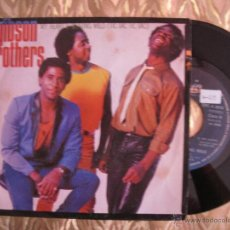 Discos de vinilo: GIBSON BROTHERS - MY HEART'S BEATING WILD ( TIC TAC TIC TAC ). Lote 28443370