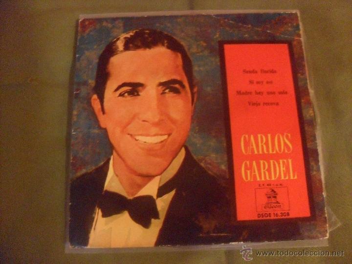 CARLOS GARDEL, ODEON 1959. EP 4 TEMAS (Música - Discos - Singles Vinilo - Grupos y Solistas de latinoamérica)