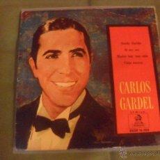 Discos de vinilo: CARLOS GARDEL, ODEON 1959. EP 4 TEMAS. Lote 43724467