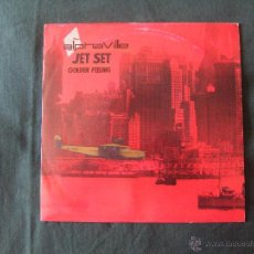 Dischi in vinile: ALPHAVILLE, JET SET + GOLDEN FEELING (SANNI 1985) SINGLE PROMO ESPAÑA - FOREVER YOUNG. Lote 43731457