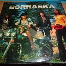 Discos de vinilo: BORRASKA - BORRASKA 1974 ZARTOS Z-2025 BUEN ESTADO. Lote 43731956