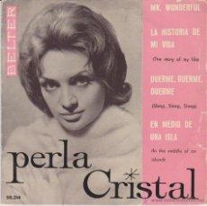 Discos de vinilo: PERLA CRISTAL ( EN ESPAÑOL ) MR. WONDERFULLL + 3 - EP SPAIN 1960 VG++ / VG++. Lote 43734982