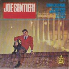 Discos de vinilo: JOE SENTIERI ( CANTA EN ESPAÑOL ) UN LARGO CAMINO - CAE LA NIEVE + 2 - EP SPAIN 1965 EX / EX. Lote 43736116