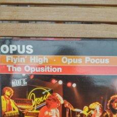 Discos de vinilo: OPUS - FLYIN' HIGH. Lote 155908437