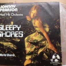 Discos de vinilo: JOHNNY PEARSON AND HIS ORCHESTRA - SLEEPY SHORES. Lote 43740788