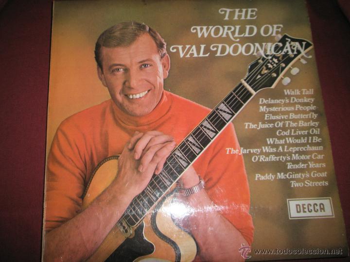LP-VINILO-GRAN BRETAÑA-THE WORLD OF VAL DOONICAN-AÑOS 60-DECCA-12 TEMAS-PERFECTO ESTADO (Música - Discos - LP Vinilo - Cantautores Internacionales)
