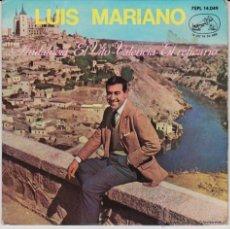 Discos de vinilo: LUIS MARIANO - ANDALUCIA - EL VITO - VALENCIA - EL RELICARIO - SP SPAIN 1964 VG++ / VG++. Lote 43749094