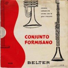 Discos de vinilo: CONJUNTO FORMISANO - JOHNSON - LASSAME STA - NON E PECCATO EP SPAIN 1959 VG+ / VG+. Lote 43749745