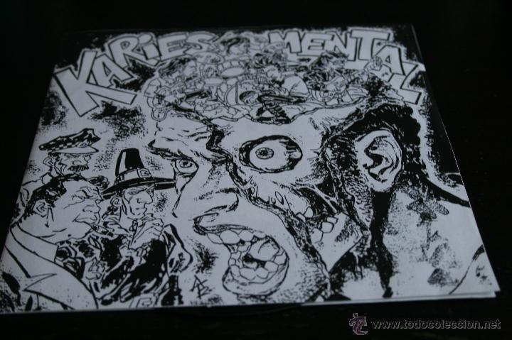 EP KARIES MENTAL 1991 ANACONDA RECORDS HARDCORE (Música - Discos de Vinilo - EPs - Punk - Hard Core)