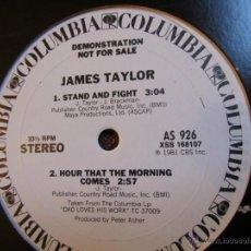 Discos de vinilo: MAXI-SINGLE DE VINILO DE JAMES TAYLOR AND J.D. SOUTHER- MADE IN USA- ORIGINAL DEL 81 -¡¡¡¡NUEVO¡¡¡¡. Lote 43756041