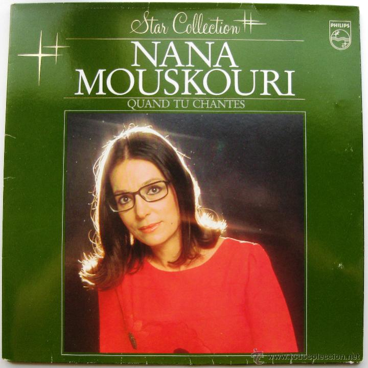 NANA MOUSKOURI - QUAND TU CHANTES - LP PHILIPS 1983 HOLANDA BPY (Música - Discos - LP Vinilo - Cantautores Extranjeros)