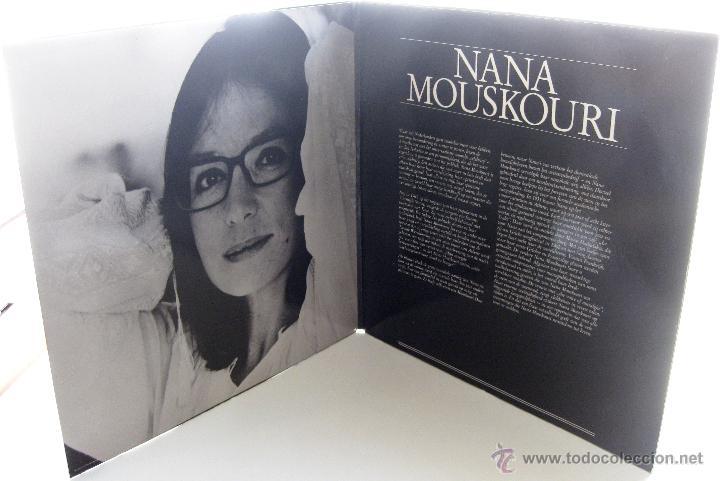 Discos de vinilo: Nana Mouskouri - Quand Tu Chantes - LP Philips 1983 Holanda BPY - Foto 3 - 43757097