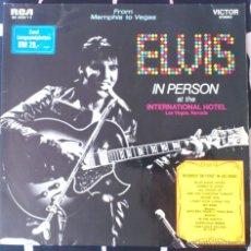 Discos de vinilo: ELVIS PRESLEY, FROM MEMPHIS TO VEGAS DOBLE LP. Lote 43764840