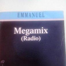 Discos de vinilo: EMMANUEL. MEGAMIX. NO HE PODIDO VERTE.BELLA SEÑORA.JARRO PICHAO.JUAN LUIS GUERRA.LUCIO DALLA.EPIC 91. Lote 43766487