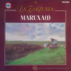 Discos de vinilo: LA ZARZUELA-MARUXA(1) (COLUMBIA 1989). Lote 43774578