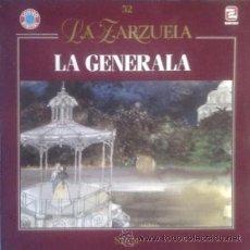 Discos de vinilo: LA ZARZUELA-LA GENERALA (ZAFIRO 1990). Lote 43774818