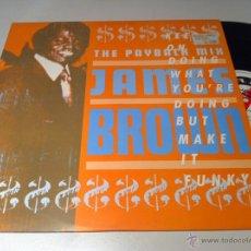 Discos de vinilo: JAMES BROWN PAYBACK MIX EDIC INGLESA EN PERFECTO ESTADO (REF:MAN). Lote 43776087