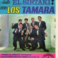 Discos de vinilo: TAMARA, EP, ZORBA EL GRIEGO + 3, AÑO 1965. Lote 43786639