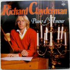 Discos de vinilo: RICHARD CLAYDERMAN - PIANO D' AMOUR - LP CNR 1980 HOLANDA BPY. Lote 43787125