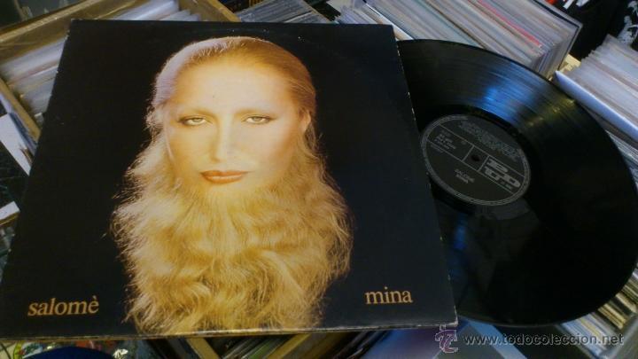 MINA SALOME 2LP DOBLE DISCO DE VINILO CANCION ITALIANA (Música - Discos - Singles Vinilo - Canción Francesa e Italiana)