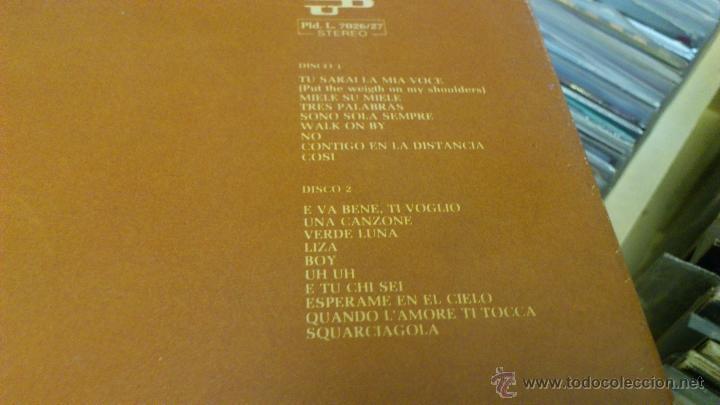 Discos de vinilo: Mina Salome 2lp doble disco de vinilo Cancion italiana - Foto 4 - 43789698