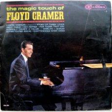 Discos de vinilo: FLOYD CRAMER - THE MAGIC TOUCH OF FLOYD CRAMER - LP RCA CAMDEN 1965 BPY. Lote 43791226