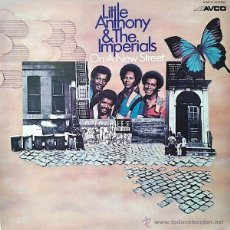 Discos de vinilo: LITTLE ANTHONY & THE IMPERIALS – ON A NEW STREET (LP). Lote 43797904