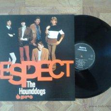 Discos de vinilo: THE HOUNDDOGS - RESPECT - REED. GERMANY ÚNICO LP 1966 - CARPETA EX VINILO EX. Lote 43799827
