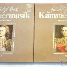 Discos de vinilo: JOHANN SEBASTIAN BACH. MUSICA DE CAMARA. 2 ALBUMS CON 8 LP'S. TELEFUNKEN. VER. Lote 93734717