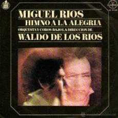 Discos de vinilo: MIGUEL RIOS - EP VINILO 7'' - EDITADO EN MEXICO / MÉJICO - HIMNO A LA ALEGRIA + 2 - CANTA EN ESPAÑOL. Lote 43821025