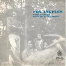 Discos de vinilo: LOS ANGELES - SINGLE 7'' - EDITADO PORTUGAL - VENTE CONMIGO + VIVEN EN EL RIVERSIDE - ALVORADA 1973. Lote 43821054