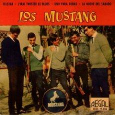 Discos de vinilo: LOS MUSTANG - EP SINGLE VINILO - TELSTAR + 3 - EDITADO EN ESPAÑA - REGAL 1963. Lote 43821269