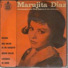 Discos de vinilo: EP MARUJITA DIAZ & GREG SEGURA ET SON ORCHESTRE : SUSANA. Lote 43821321