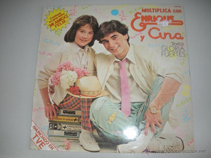MAGNIFICO LP DE - ENRIQUE Y ANA - (Música - Discos - LPs Vinilo - Música Infantil)