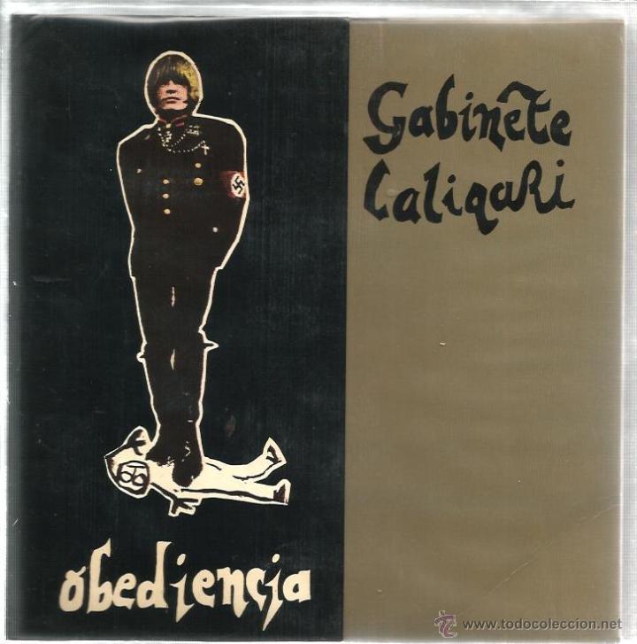 EP GABINETE CALIGARI : OBEDIENCIA + LA VIDA ES CRUEL + ENTRE DOS LADRONES (Música - Discos de Vinilo - EPs - Grupos Españoles de los 70 y 80)