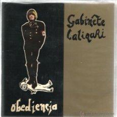 Discos de vinilo: EP GABINETE CALIGARI : OBEDIENCIA + LA VIDA ES CRUEL + ENTRE DOS LADRONES. Lote 43826226