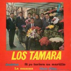 Discos de vinilo: TAMARA, EP, LA MAMMA + 3, AÑO 1964. Lote 43826681