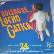 Discos de vinilo: MAGNIFICO DOBLE LP - DE LOS MEJORES BOLEROS DE LUCHO GATICA -. Lote 43829528