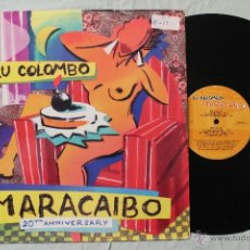 Discos de vinilo: LU COLOMBO MARACAIBO 20 ANNIVERSARY MAXI SINGLE VINYL ICE RECORDS ITALY. Lote 43831164